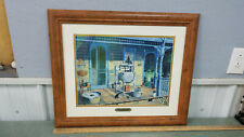 """""""Maytag Morning""""  by Randy Souders padded and framed"""