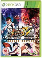 Super Street Fighter IV Arcade Edition XBOX 360 video juego de la versión original de Reino Unido