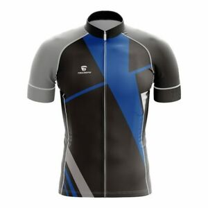 Short Sleeves Mountain Biking T-shirt Customized Branded Rider Jersey for Men