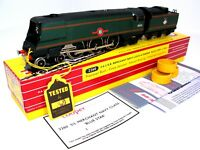 HORNBY DUBLO / TONY COOPER 4-6-2 MERCHANT NAVY BLUE STAR