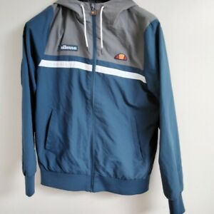 Blue And Grey Ellesse Windbreaker Size Small