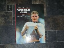 Ted Smart Italy World Cup 1990 Hardback Book - The Great Moments ( Rare Book )