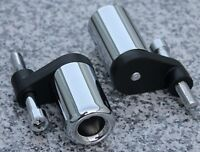 2007-2008 Yamaha YZF R1 CHROME FRAME SLIDERS