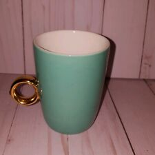 Fred & Friends Coffee Cup Mug Ring Green