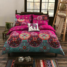 Indian Paisley Mandala Duvet Cover Pillow Cases Quilt Cover Bedding Set All Size