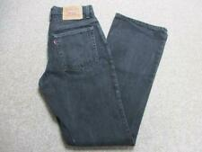 "WOMENS LEVI 517 LOWRISE BOOTCUTH JEANS SIZE 11 32""L / REF K3653"