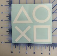 Play Station Buttons vinyl decal sticker