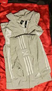 Adidas Grey Jacket and pants size Medium