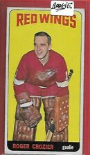 *DETROIT RED-WINGS*64-65 Topps #47**ROGER CROZIER**RC Look Picture for Condition