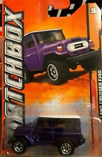 Matchbox Outdoor Sportstman '68 Toyota Land Cruiser Purple MBX 1:64 NIP Die Cas