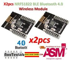 2pcs CORE51822 BLE4.0 Bluetooth Wireless Module NRF51822 Communication Board