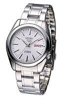 SEIKO 5 Wrist Watch SNKL41J1 White Automatic Cal.:7S26 Analog SS Authentic MIJ