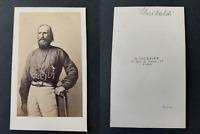Tournier, Paris, Garibaldi Vintage albumen print CDV. Tirage albuminé  6