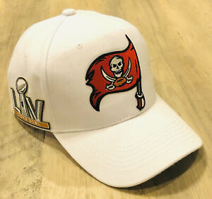 Tampa Bay Buccaneers Super Bowl 55 White Hat Football Champions