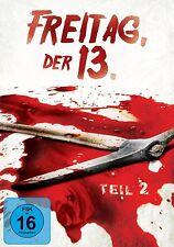 FREITAG DER 13.TEIL 2   DVD NEU JOHN FUREY/ADRIENNE KING/AMY STEEL/+