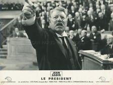 JEAN GABIN RENEE FAURELE PRESIDENT 1961 PHOTO ORIGINAL #17
