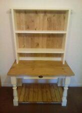4ft handmade shabby chic solid pine dresser