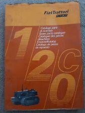 FIAT 120C Crawler Trattore CATALOGO PARTI