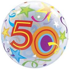 50th Birthday Bubble Balloon Fifty Birthday Party Decoration