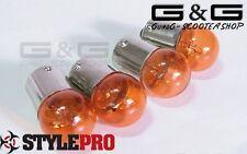Glühlampe Glühbirnen Blinker Orange 12V 10W Aerox Bws Nitro Booster Stunt Roller