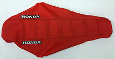 New all Red Ribbed Seat Cover CRF450R 2009-2012, CRF250R 2010-2012