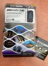 UNUSED PACSAFE 140 EXOMESH SECURITY ANTI THEFT PROTECTION PADLOCK & KEYS EXC