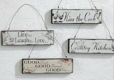 Holzschild  Live Laugh LOVE oder Country Kitchen oder Good Friends  Schild Holz