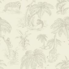 Natural Palma Sola Wallpaper Jungle Tropical Safari Trees Paste The Wall Holden