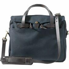 NEW FILSON ORIGINAL BRIEFCASE BAG NAVY TWILL LATOP CASE 70256 MADE IN USA