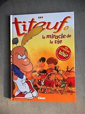 ZEP TITEUF TOME 7 LE MIRACLE DE LA VIE EO ETAT NEUF AVEC JOURNAL ATTACHE RARE