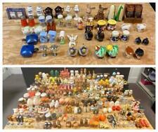 HUGE Lot 157 Vintage Salt & Pepper Shaker Sets Retro Wood Travel Animals Flower