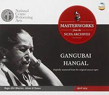 Gangubai Hangal - Ragas Ahir Bhairav Adana and Yaman  April 1974 [CD]