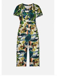 "🌈 New Gorman x Spencer Shakespeare ""Casa Verde"" Pantsuit Jumpsuit 14 L"