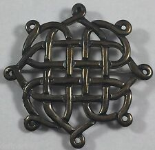 Vintage Celtic Sterling Silver Pendant Pin Brooch