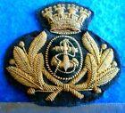 ITALIAN NAVY OFFICERS CAP BADGE