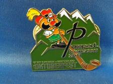 OKTOBERFEST  2011 MASCOT PASSPORT TO SUCCESS KITCHENER WATERLOO SOUVENIR PIN