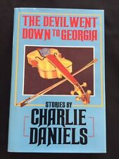 THE DEVIL WENT DOWN TO GEORGIA - INSCRIBED BY CHARLIE DANIELS