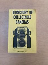 BOOK: DIRECTORY OF COLLECTABLE CAMERAS, 1972/160743