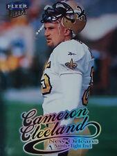 NFL 157 Cameron Cleeland New Orleans Saints Fleer Ultra 1999