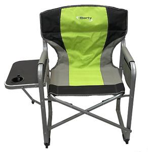 Liberty Folding Directors Camping / Festival Chair - Green