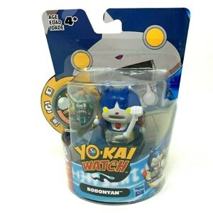 Yo-Kai Watch Medal Moments Robonyan Action Figure & Medal By Hasbro Sealed 2015