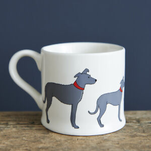 Sweet William LURCHER / GREYHOUND Mug | Great Gift for Dog Lovers | FREE P&P