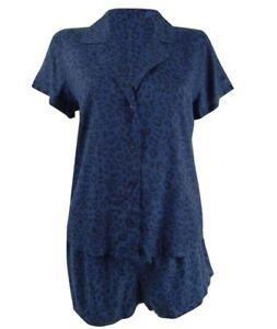 Jenni by Jennifer Moore Women's 2-PC Printed Top & Shorts Pajama Set Size XS