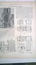 1909 92 n Magdeburg Staatsarchiv / Lehmhäuser Drahtlehmbauten