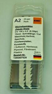 German High Quality Jigsaw Blades Compatible with Bosch T101D Pack of 25