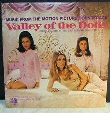 Valley Of The Dolls Soundtrack 1967 Sharon Tate Bell Sound Vg+