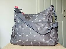 Babymel grey changing bag/ nappies shoulder bag