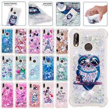 For Samsung Galaxy A10s A20s A30s A50s A10e Gel TPU Dynamic Quicksand Case Cover