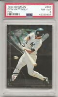 1994 Bowman FOIL #386 DON MATTINGLY,  PSA 8 NM-MT, NEW YORK YANKEES, L@@K