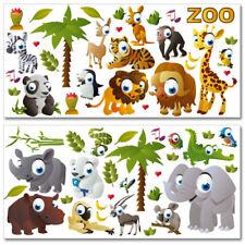 """Wandkings Wandsticker """"Zoo"""" Mega-Set Aufkleber Sticker Deko"""